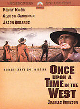 Once Upon a Time in the West DVD, Henry Fonda, Charles Bronson, Claudia Cardinal
