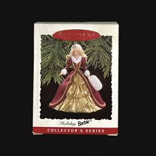 Hallmark Keepsake Holiday Barbie Christmas Ornament 4th in Series 1996