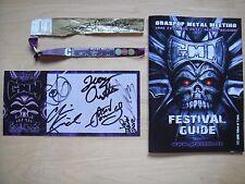 Jon Oliva's Pain - Promo card signed autographed Savatage