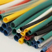 140pcs 2:1 Heat Shrink Tubing Tube Wire Cable Sleeving Wrap Assorted 5 SizesKit