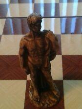 Michaelangelo (David) Rodin (The Thinker) Chess Set