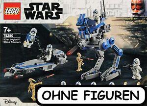 LEGO ® STAR WARS CLONE TROOPER DER 501. LEGION 75280 OHNE FIGUREN   NEUWERTIG