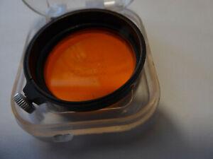 LEICA FILTER antik und noch unbenutzt,orange,habe ich vor 40 Jahren mal gekauft.