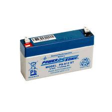 RECHARGEABLE SLA BATTERY 6V 1.3/1.2AH 6volt 1.3ah alarm battery