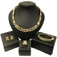 #47 HUGS & KISSES xo Set 18k Layered Real Gold Filled