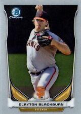 2014 Bowman Chrome Draft Top Prospects #CTP83 Clayton Blackburn San Francisco