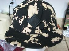 Volcom sweet queso hat new nwt 1 size fits all black tie-dye style
