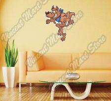 "Wolf Tiptoeing Cartoon Funny Gift Idea Wall Sticker Room Interior Decor 20""X25"""