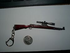 K-98 Mauser Sniper Rifle key chain / Fob / Pendant / NEW / keychain  Scout Scope