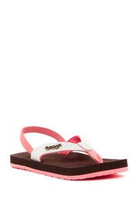 Reef Little Toddler Girl's 7/8 Little Cushion Sassy Flip Flops Sandals Pink