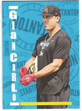 2017 TOPPS BEVERLY HILLS 90210 DESIGN GIANCARLO STANTON MIAMI MARLINS /333