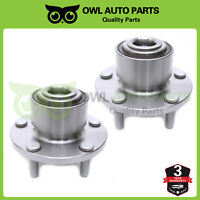2 Front Complete Wheel Bearing Hub Assembly For 2004 2005 Mazda 3 w/ ABS 513211