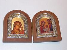 coffret ICONE byzantine icon IMAGE PIEUSE holy church ST VIERGE MARIE orthodoxe