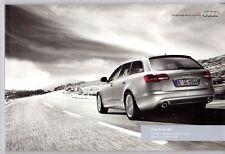 Audi A6 & S6 2010-11 UK Market Sales Brochure Saloon Avant SE S line Special Ed