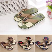 Mens Flip Flops Sandals Lightweight EVA Comfort Thongs Beach Non-slip Slippers
