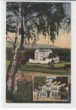 AK Oberursel, Taunus, Kurhotel Waldlust, Feldpost 1914