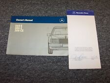 1988 Mercedes Benz 260E 300E 300CE Owner Owner's Operator User Guide Manual Set