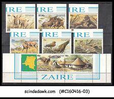 Zaire - 1984 Wild Animals Scott#1131-1138 - 8V - Mint Nh