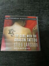 The Girl with the Dragon Tattoo - Abridged Audiobook 6x Audio CDs