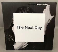 "DAVID BOWIE ""THE NEXT DAY"" 2013 USA 180 GRAM 2 VINYL LP SET + CD LIKE-NEW!"