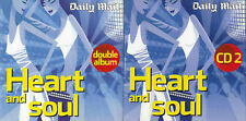 HEART AND SOUL - VARIOUS ARTISTS ~ 2 DISCS - MAIL PROMO MUSIC CD
