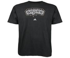 b575fd4bc San Antonio Spurs Adidas Primary logo NBA Men T Shirt Black