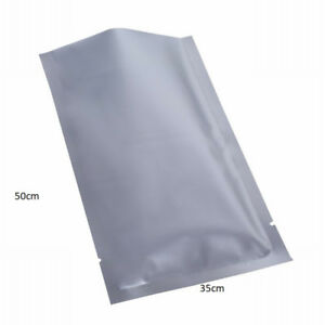 10 x ADF Heat Seal Bag 35cm x 50cm Foil Mylar Smell Proof XRay Proof Hydroponics