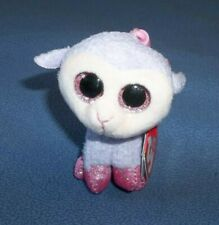 Ty Basket Beanie Plush Easter Lamb Lilli Sparkle Eyes Collectible Key Clip Nwt