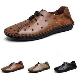 Men Beach Sandals Shoes Slip on Sports Walking Breathable Trekking Flat Non-slip