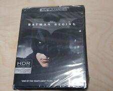 Batman Begins (4K Ultra Hd Uhd & Blu-ray 2017) New Sealed