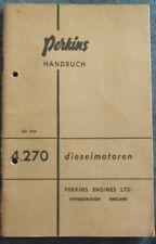 Perkins Motor 4,270 Handbuch