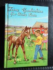 Christel Burg: Feine Geschichten für kleine Leute Titania-Verlag Kinderbuch
