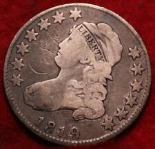 1819 Philadelphia Mint Silver Capped Bust Quarter
