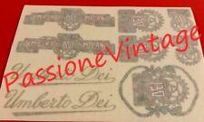 Dei decalcomanie Kit completo/stickers/adesivi