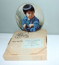 KERN COLLECTIBLES  PLATE 1984 NAVAJO PIXIE CHILDREN OF THE SOUTHWEST