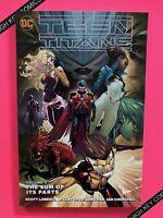Teen Titans Vol 3 The Sum Of Its Parts TPB GN DC 2016 NM