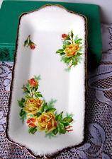 "Royal Albert Tea Rose Sandwich Tray, Yellow Rose English Bone China 11"" Platter"