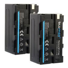 2x Akku für Sony NP-F750 | 60122 |4000mAh| NP-F330 F530 F550 F730 F770 F930 F970