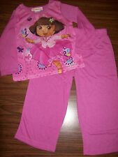 Toddler Girls DORA 2-Pc Pajamas - Size 2T - NEW NWT MSRP $28 - PINK