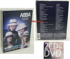 ABBA The Essential Collection [Limited Edition] Taiwan 2-CD+DVD+24P w/OBI