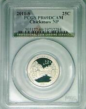 2011-S Chickasaw quarter PCGS PR69DCAM proof FLAG