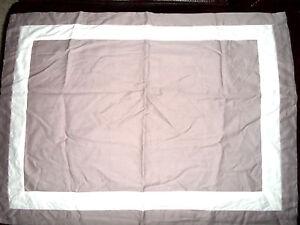 DKNY Shadow Blossom Sham Standard Queen Pillow Sham  Purple Dusk NIP