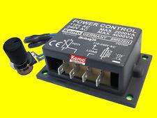 NEU! M028-N LEISTUNGSREGLER DIMMER MOTOR-REGLER - 4000 W/VA M028N POWER CONTROL