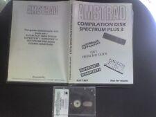 AMSTRAD COMPILATION DISK x SPECTRUM NOMAD MAILSTROM SUPERTEST COSMIC WARTOAD