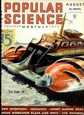 343 ISSUES POPULAR SCIENCE MAGAZINE 1935-1963 WEIRD OLD INVENTIONS 6 DVD SET