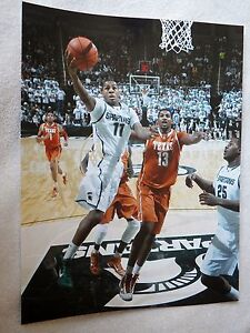 Michigan State Spartans Keith Appling Signed 11x14 Photo Auto