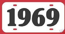 1969 OLDSMOBILE 442 CUTLASS BUICK GS SKYLARK LICENSE
