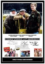 010. ONLY FOOLS AND HORSES SIGNED REPRODUCTION PRINT SIZE A4