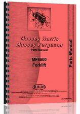 Massey Ferguson 6500 Forklift Parts Manual MH-P-MF6500FL
