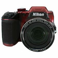 Nikon COOLPIX B500 Digital Camera , 16MP, 40x Optical Zoom Red , NEW WHITE BOX